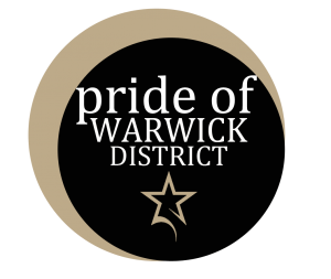 Pride of Warwick District logo